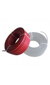 Solar Kablo 6mm Kırmızı 1 Metre